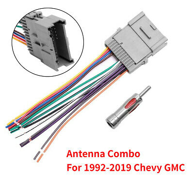 $9.75 • Buy For GMC Chevy Buick Pontiac Car Stereo Radio Wiring Harness Antenna Adapter New