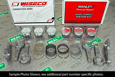 $ CDN2185.09 • Buy Manley Forged Pistons Wiseco Boostline Rods For Supra 2JZ 2JZ-GTE 86.5mm 10.0:1