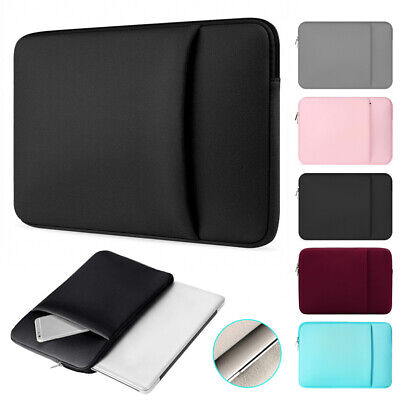 For MacBook Air/Pro HP Dell 11 13 15 Inch Laptop Bags Sleeve Case Cover Pouch • 6.74£