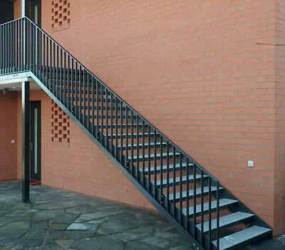 Fire Escape Staircase / External Staircase / Fire Escape Stairs / Bespoke Made  • 49.99£