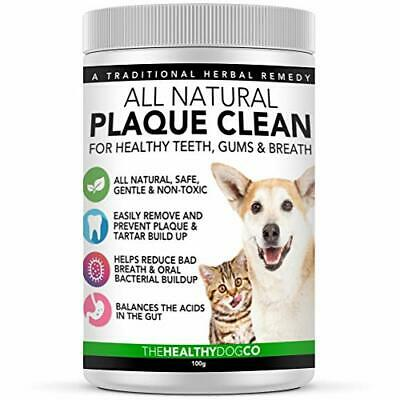 All Natural Plaque Clean | Cat & Dog Plaque Remover & Bad Breath Freshener • 19.75£