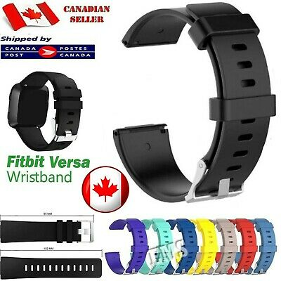 $ CDN8.49 • Buy  For Fitbit Versa / 2 Lite Replacement Band Silicone Sports Strap Wrist Band