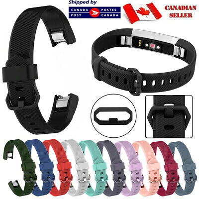 $ CDN6.35 • Buy For Fitbit Alta HR Ace Band Replacement Soft Silicone Secure Strap Wristband S L