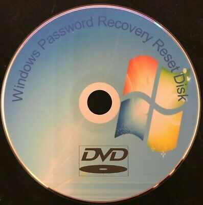 Windows 7 8 10 PC Laptop Password Recovery Remove Reset Utillity Disc FREE P&P • 2.65£