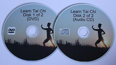 £2.45 • Buy Learn Tai Chi 2 Disk DVD & CD Set, Exercise, Health And Fitness FREE POSTAGE