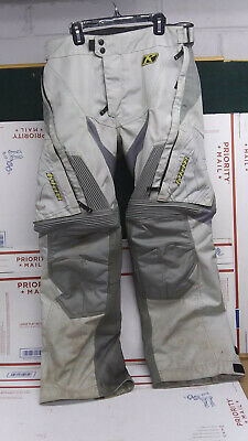 $ CDN158.54 • Buy KLIM Dakar OTB Gray Off-Road Motorcycle Riding Pants 34  Regular Used But Great!