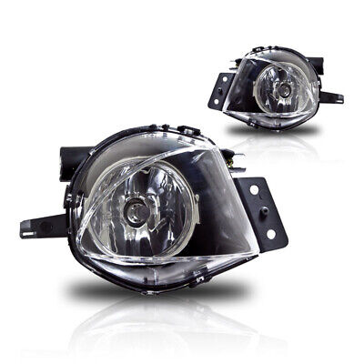 $26.85 • Buy For BMW 3 Series E90 06-08 Factory Bumper Replacement Fit Fog Lights Clear Lens