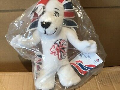 Pride The Lion Team Gb 2012 Olympic Games Mascot Plush Brand New In Sealed Bag • 19.99£