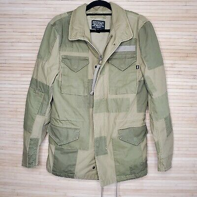$115.99 • Buy MEN'S S ALPHA INDUSTRIES M-65 CONSTRUCT FIELD JACKET IN OLIVE Patch XS