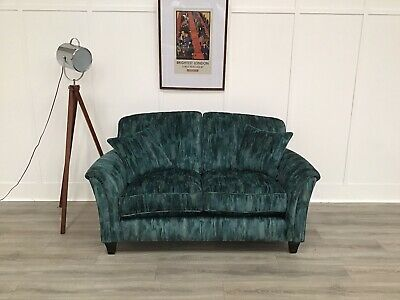 £1099 • Buy Parker Knoll 2 Seat Seater Sofa In Green Patterned Fabric (Devonshire)