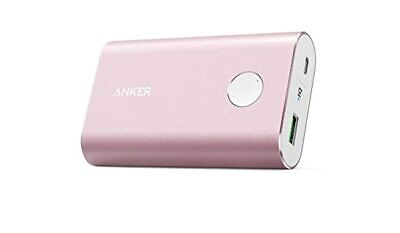 AU64 • Buy Anker Powercore+ 10050mAh Qualcomm 3.0 Power Bank - Pink PORTABLE CHARGER QUICK