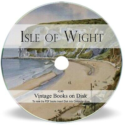 62 Rare Isle Of Wight Books On DVD - Hampshire History Genealogy Research 240 • 3.90£