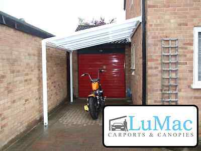 £426.65 • Buy Carport Motorcycle Car Bike Motorbike Cover Patio Decking Canopy Shelter Lean To