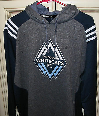 $ CDN69.95 • Buy Men's XL Adidas VANCOUVER WHITECAPS Soccer Pullover Hoodie Hooded Sweat Shirt