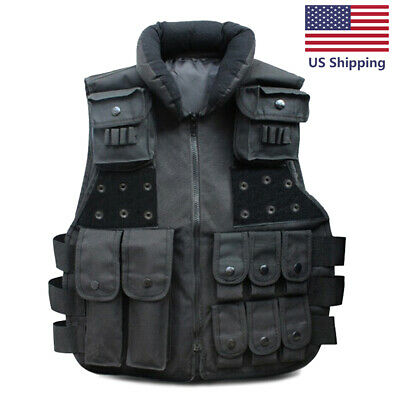 $20.69 • Buy Tactical Vest Military Carrier Molle Police Airsoft Combat Assault Gear
