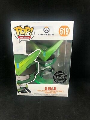 AU66.50 • Buy Games Overwatch Sentai Genji Blizzard Exclusive Funko Pop Vinyl