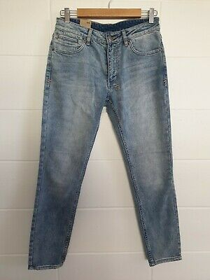 AU60 • Buy KSUBI Spray On Cropped Skinny Leg Jeans Sz 28 BNWT