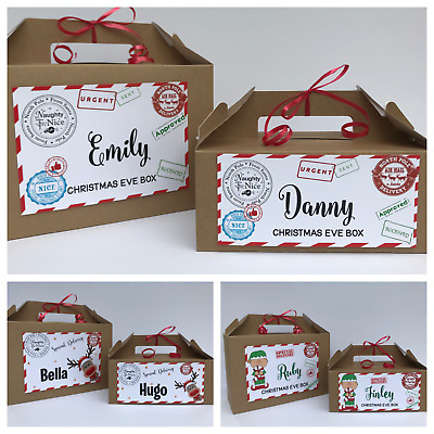 Personalised Christmas Eve Gift Box | Xmas Favour  | Secret Santa | Present Brw • 4.25£