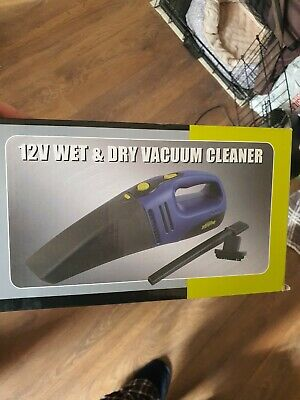 12v Wet And Dry Vacuum Cleaner • 4£