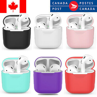$ CDN5.85 • Buy Silicone Protective Case Skin For Apple Airpods 1 2 Airpod Charging Box Cover