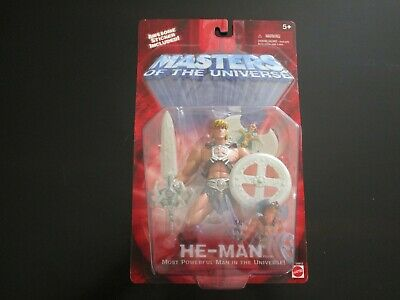 $53 • Buy NEW  MOTU Masters Of The Universe 200X  He-man 5+ (Iron Cross)2001