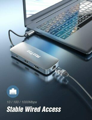 AU88.88 • Buy USB C Hub | 8-in-1 USB C Adapter With 4K HDMI, USB 3.0 Ports, 1Gbps Ethernet