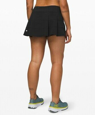 $ CDN72.39 • Buy NEW With Tags LULULEMON Pace Rival Skirt 10 Black Run Gym Skort