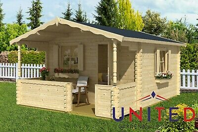 £3337 • Buy Stephen Garden Office Summer House Log Cabin Room With Available Insulated
