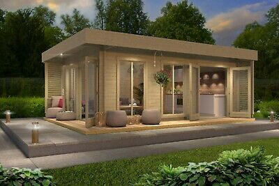 £6855 • Buy 20x12 Queen Garden Room Home Office Summer House Gym Studio Available Insulated