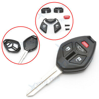 $9.88 • Buy For Mitsubishi Galant Eclipse Lancer EVO 4 Buttons Remote Key Shell Fob
