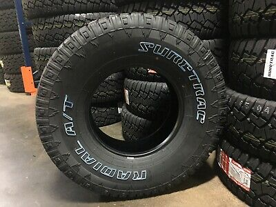 $465 • Buy 4 Suretrac AT Tires 235/75R15 All Terrain XLPLY  2357515 New  235 R15 75 235 75R