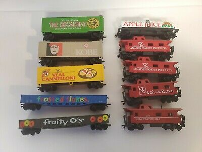 $ CDN29 • Buy HO Scale Trains Freight Cars President's Choice Lot Of 10 Made In Slovenia