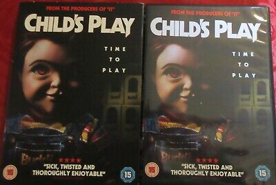 Childs Play DVD _Cert 15_ 2019 Time To Play • 5£