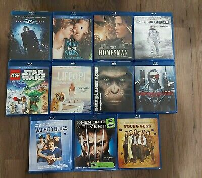 $ CDN32.49 • Buy Blu-ray Disc Movie Lot 11 Titles Great Condition