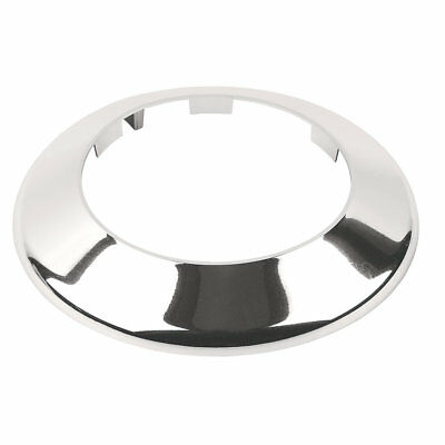 110mm Chrome Toilet Waste Pipe Cover Soil Pipe Collar  | Talon PC110CH • 6.60£