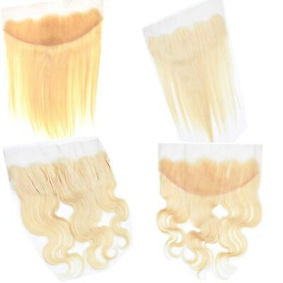 TIMMALC HAIR PERUVIAN BLONDE 613# LACE FRONTAL13x4 STRAIGHT/BODY WAVE FREE PART  • 149.99£
