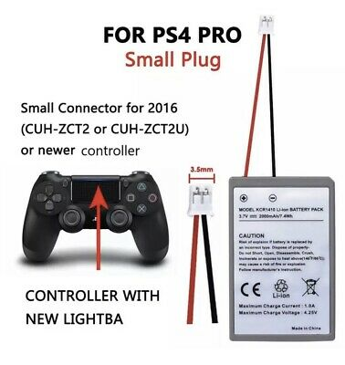 AU28.95 • Buy X2 Battery REAL 2000mAh For PS4 Pro Game Controller +USB Charging Cable