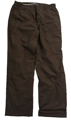 PETER STORM Womens Brown Thermal Lined Hiking Leisure Trousers (UK 14) • 4.99£