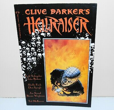 Clive Barkers Hellraiser Book 1 First Edition 1989 Epic Comics Pinhead • 19.99£