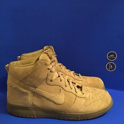 Nike Dunk High - With A.P.C - Size UK 9.5 • 90£