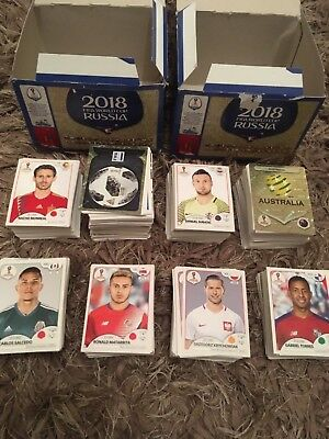 Panini World Cup 2018 Russia Stickers Choose From The List  Free P&p • 2.50£