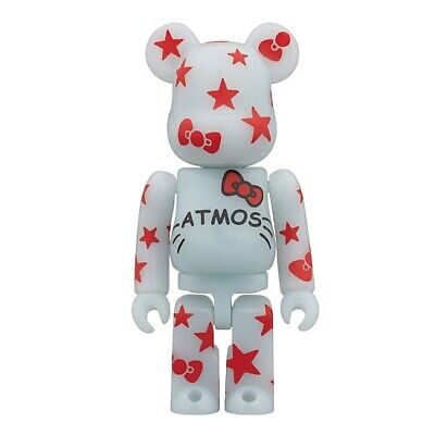 $99 • Buy Medicom ATMOS HELLO KITTY BE@RBRICK 100 Bearbrick New Limited Japan