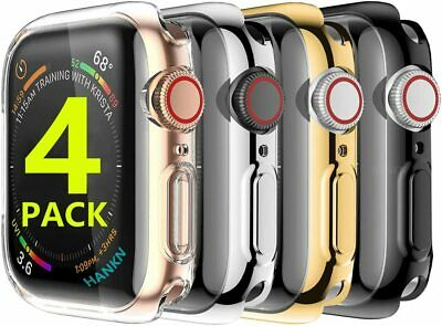 $ CDN11.35 • Buy 4 Pack Screen Protector Case Cover For Apple Watch 38 42 40 44mm Series 5 4 3 2