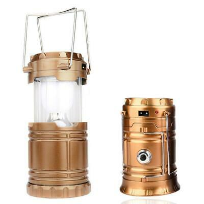 AU20 • Buy USB Charging Rechargeable Outdoor Camping Tent Lantern Light 6 LED Lamp HE
