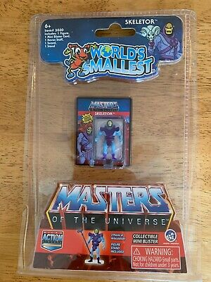 $10.95 • Buy Worlds Smallest Skeletor Masters Of The Universe Motu He Man In Hand!!