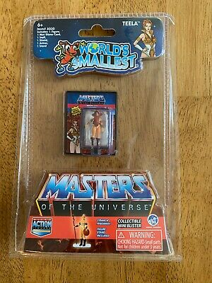 $10.95 • Buy Worlds Smallest Teela Masters Of The Universe Motu He Man In Hand!!