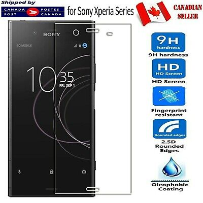 $ CDN2.99 • Buy For Sony Xperia XA1 Ultra XA2 XZ2 Compact Tempered Glass LCD Screen Protector