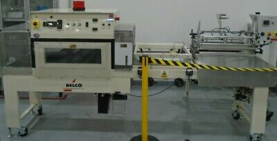 Belco STC2520C Shrink Packaging System With L-Sealer And Fan Shrink Tunnel • 3,906.80£