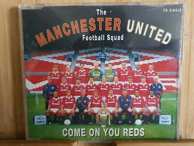 Manchester United Cd Come On You Reds • 5£