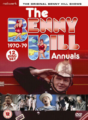 Benny Hill: The Benny Hill Annuals 1970-1979 DVD (2006) Benny Hill Cert 12 12 • 39.26£
